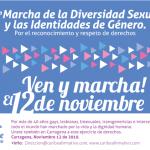 Marcha de la Diversidad sexual e identidades de género