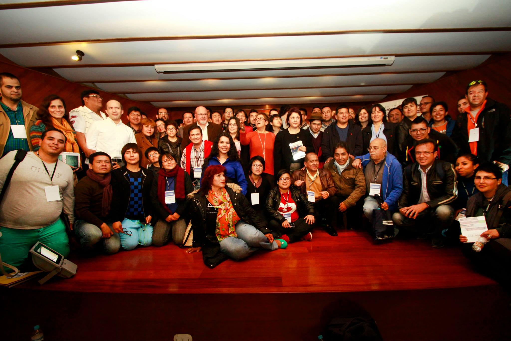Primer Encuentro de Liderazgos LGBTI Lima, Perú 2014