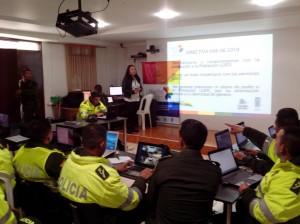 Taller de Sensibilización con Policía Municipio de  Ipiales
