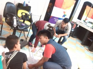 Cartografía Social realizada por población LGBTI en el Municipio Samaniego