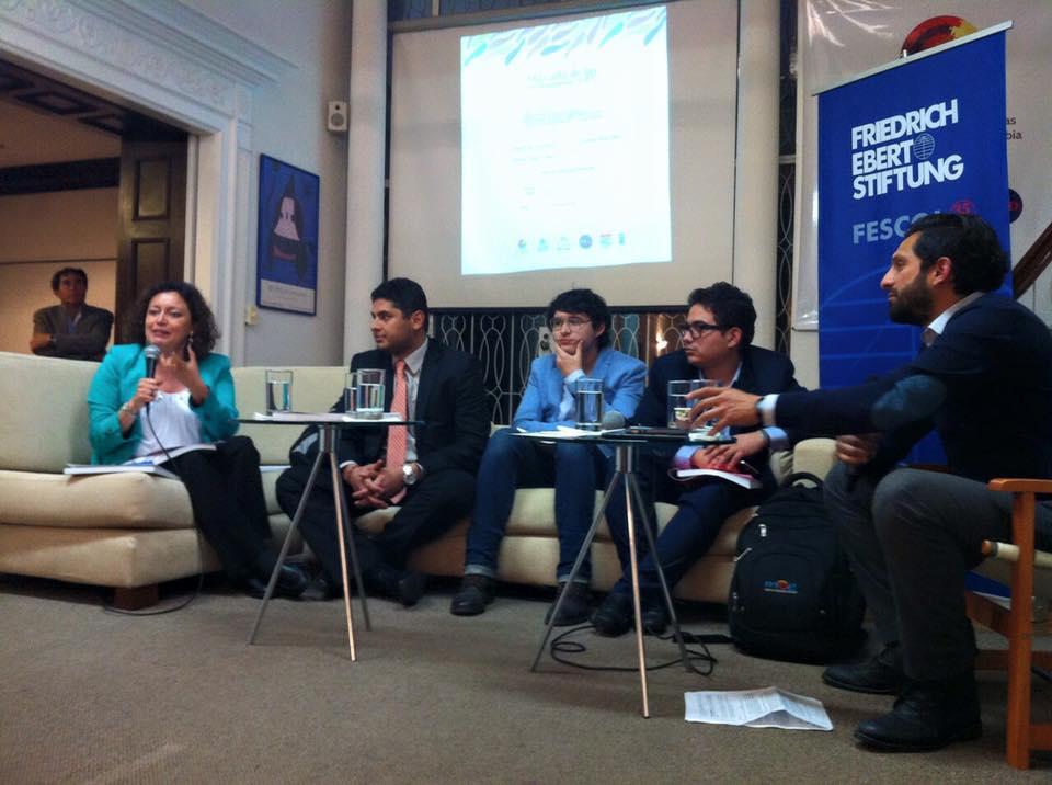 Lanzamiento del Informe de Participación Política de personas LGBTI en Colombia.